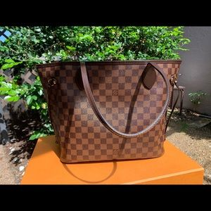 COPY - Louis Vuitton Neverfull MM Damier Ebene To…